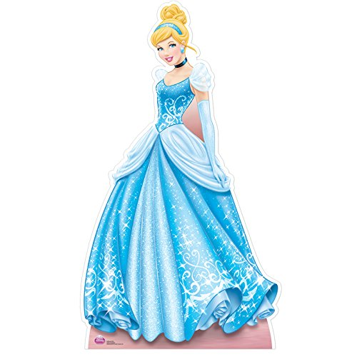 Star Cutouts SC554 Cinderella Colourful Cardboard Cut Out ()