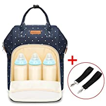 Diaper Bag Multi-Function Waterproof Travel Backpack Nappy Bag for Baby Care with Insulated Pockets, Large Capacity, Durable (Blue)