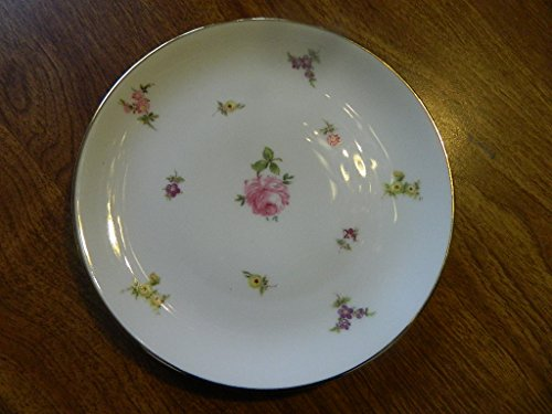 Chintz Gold (Johann Haviland Rose Chintz Bread & Butter plate - gold trim)