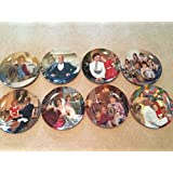 Annie Series - Complete Set of 8 Knowles Collector Plates
