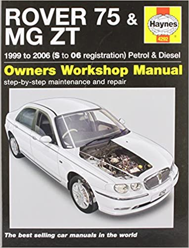 Haynes manual rover 75 / mg zt petrol & diesel (99 06) s to 06.