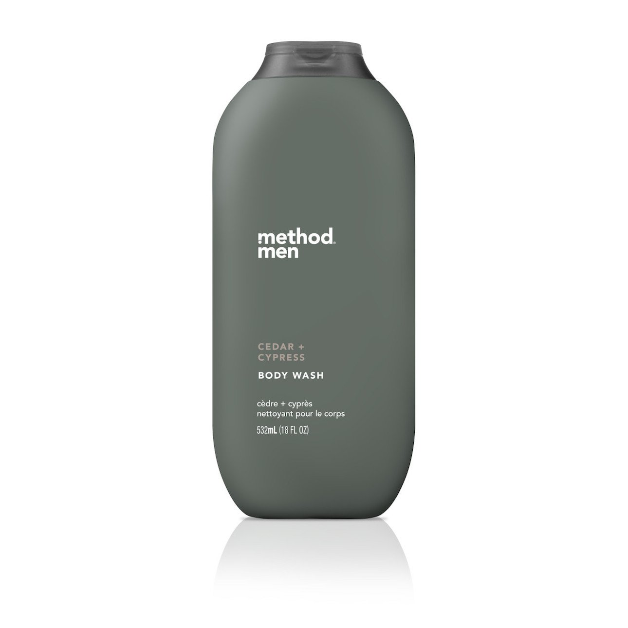 Method Mens Body Wash, Cedar + Cypress, 18 Ounce (6 Count) 10817939018603