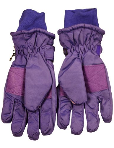 Winter Warm-Up - Ladies Ski Gloves, Purple 36751-Large by WINTER WARM-UP (Image #1)