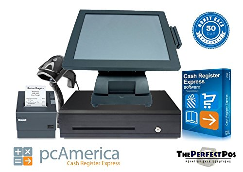 Retail Point of Sale System featuring Cash Register Express Software