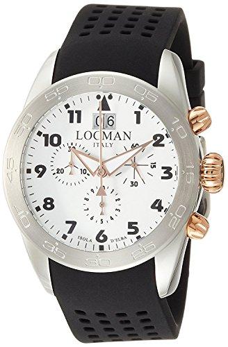 LOCMAN watch ISOLA D'ELBA 0460M08-0RWHBKSK Men's