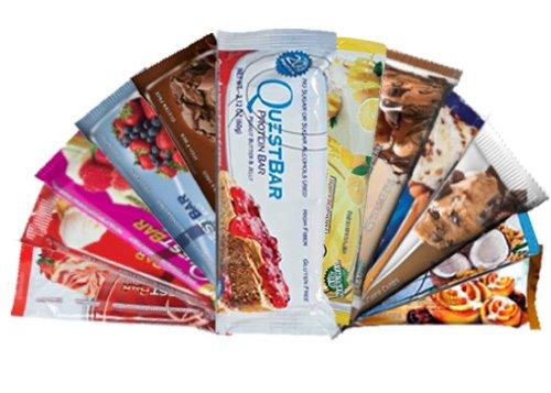 Quête Bar Variété Bundle Pack de 12 (1 de chaque)