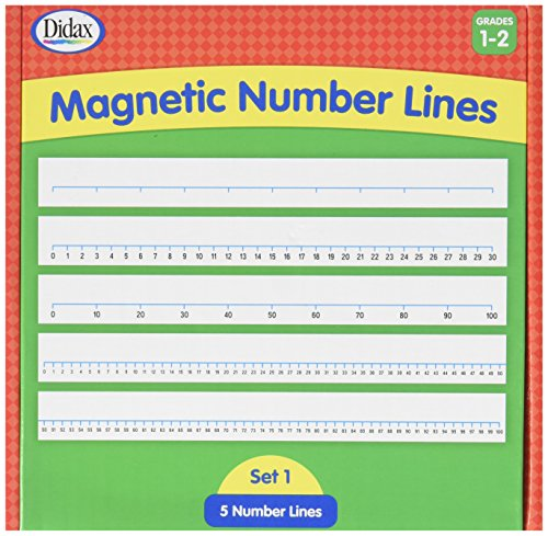 - Didax Educational Resources 211418 Magnetic# Lines, Gr 1-2