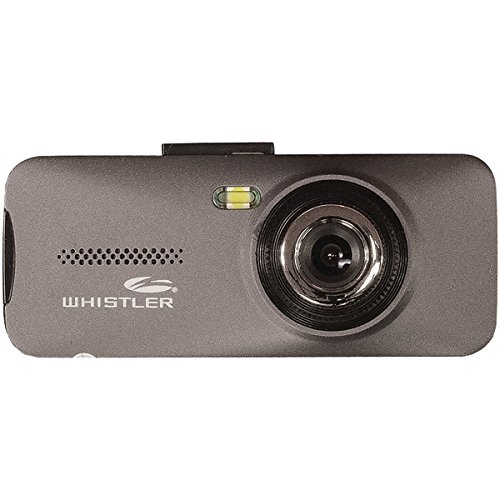 """Whistler D11VR Automotive DVR: Windshield Mount Dash Camera with 2.7"""" LCD Monitor, 720p HD"""