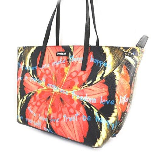Bag designer Desigualmarrone arancione.