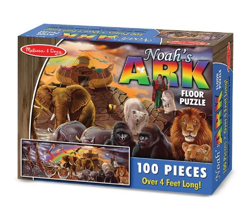 Melissa And Doug Noahs Ark - Melissa & Doug Noah's Ark Jumbo Jigsaw Floor Puzzle (100 pcs, over 4 feet long)
