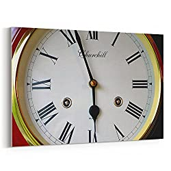 Westlake Art - Watch Clock - 32x48 Canvas Print Wall Art - Canvas Stretched Gallery Wrap Modern Picture Photography Artwork - Ready to Hang 32x48 Inch