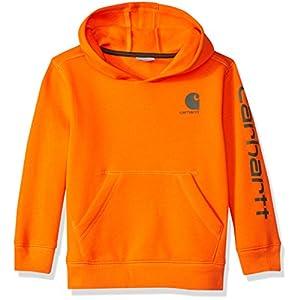 Best Epic Trends 51Dy%2B75Yw0L._SS300_ Carhartt Boys' Hooded Long Sleeve Sweatshirt