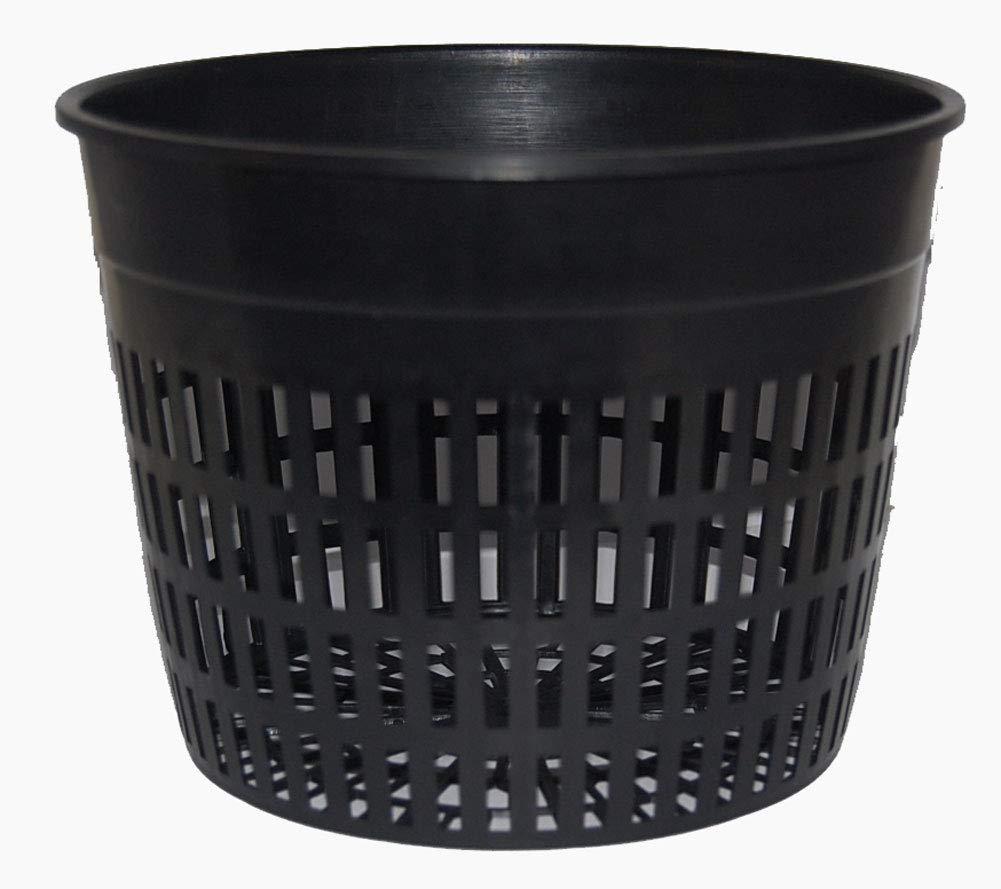 Net Pots 6 inch, Round Heavy Duty, 1 Dozen