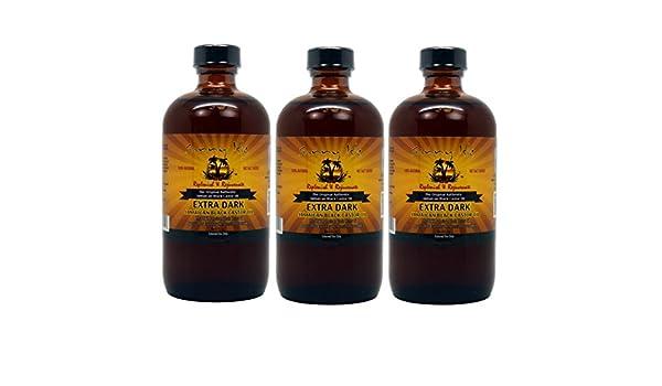 Aceite de ricino negro jamaicano extra Sunny Isle, aprox. 235 mL: Amazon.es: Belleza