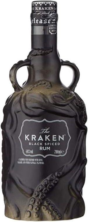 The Kraken Black Spiced Rum édition limitée