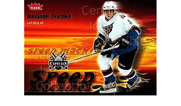 1baf2d425da Amazon.com: (CI) Alexander Ovechkin Hockey Card 2006-07 Fleer Speed  Machines 25 Alexander Ovechkin: Collectibles & Fine Art