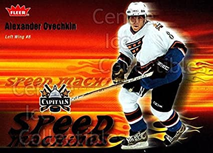 509ae6cbabc Image Unavailable. Image not available for. Color: (CI) Alexander Ovechkin  Hockey Card 2006-07 Fleer Speed Machines 25 Alexander Ovechkin