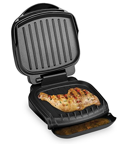 George foreman gr0036b electric grill black 36 sq in cooking surface buy online in uae - Buy george foreman grill ...
