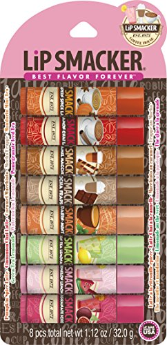 (Lip Smacker Coffee and Tea Lip Balm Party Pack)