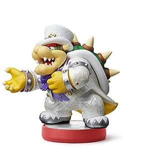 Nintendo - Figurina Amiibo Bowser, Colección Super Mario