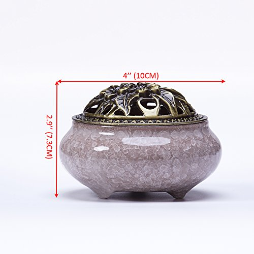 UOON Stick Incense Burner and Cone Incense Holder Ash Catcher