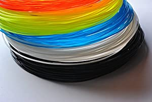 American 3D Supply PLA 3D Printer Filament, 1 kg Spool, 1.75 mm, Blue from American 3D Supply