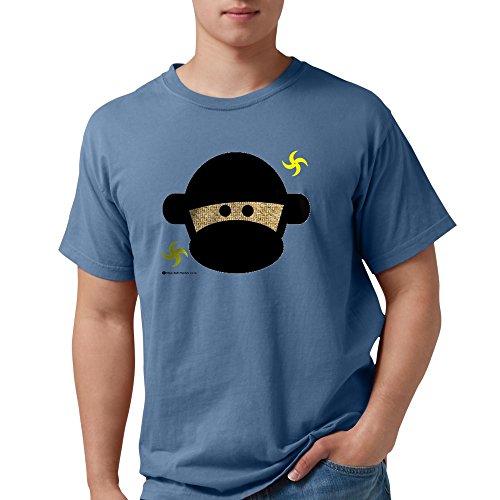 CafePress - Sock Monkey Ninja T-Shirt - Mens