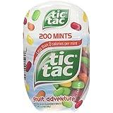 Tic Tac Fruit Adventure Bottles, 3. 4 Oz. (Pack Of 4)