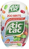 Tic Tac Mints, Fruit Adventure, 3.4 oz. Bottle Pack (4 Count)