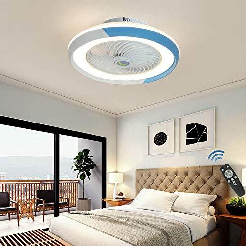 CAGYMJ Ventilador De Techo con Iluminación De Techo LED,Luz Velocidad del Viento Ajustable Control Remoto Ultra…