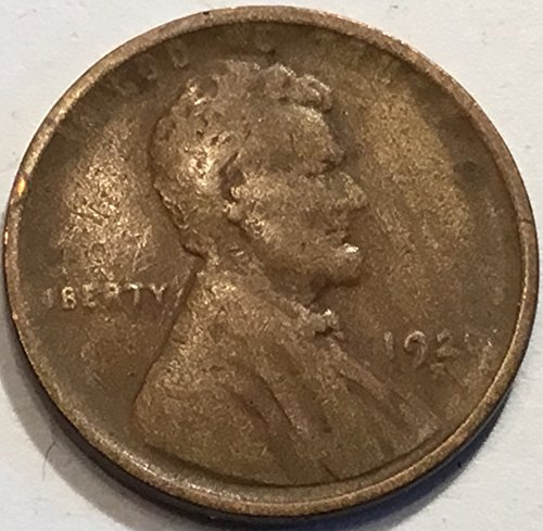 1920 S Lincoln Wheat Cent Penny Fine