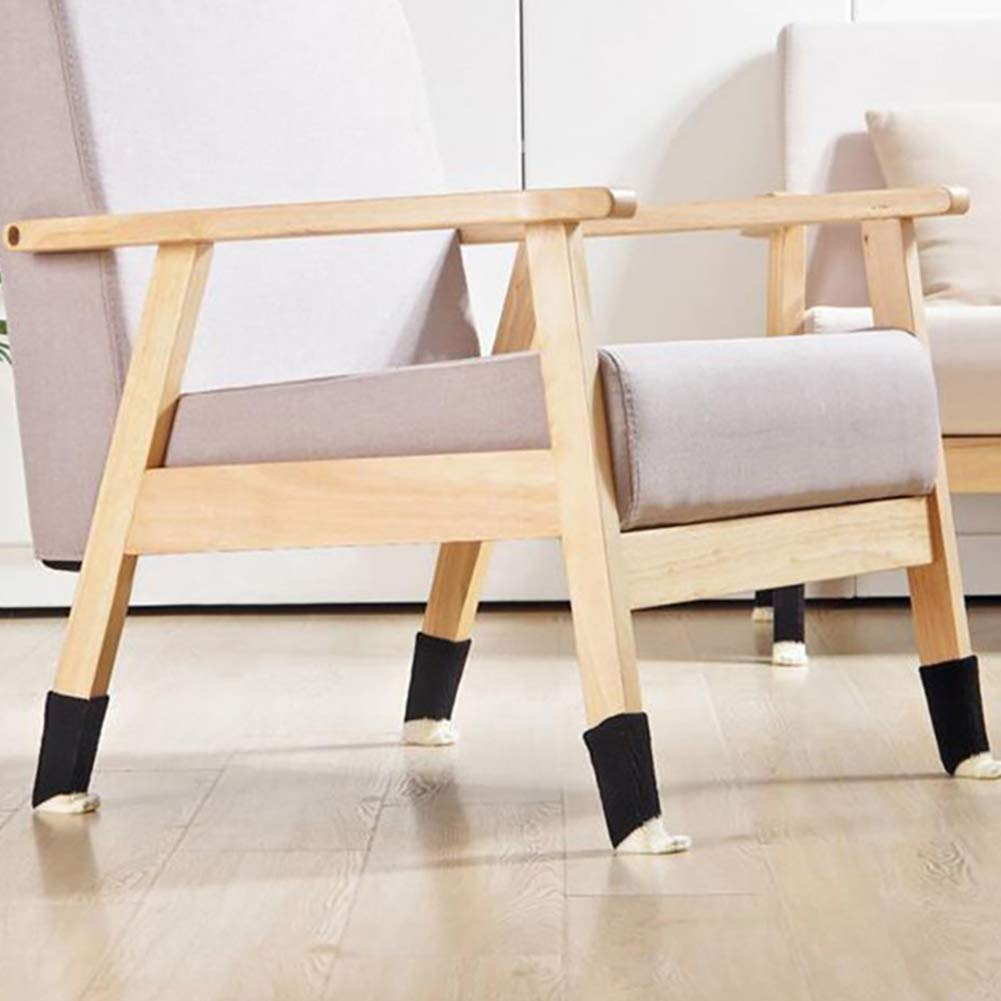 Jushi Cat Paw Table Feet Cover 16Pcs Knitting Chair Leg Socks Anti Slip Furniture Feet Sleeve
