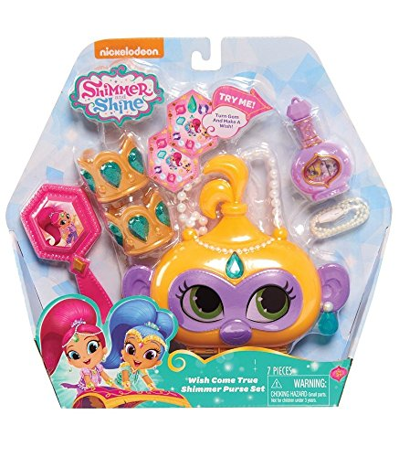 Shimmer and Shine Wish Come True Shimmer Purse Set