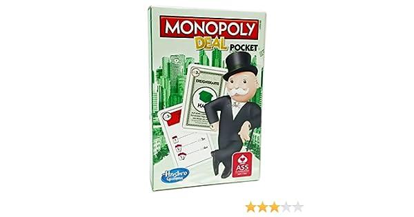 Hasbro Monopoly Deal Pocket ASS - Juego de cartas, edición alemana: Unbekannt: Amazon.es: Juguetes y juegos