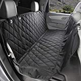 Zodae Pet Seat Cover for Dogs Cats and Other Pets, Car Mat, Waterproof & Nonslip Rubber Backing with Anchors (Standard Back Seat Cover)