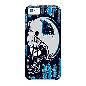 Bumper Hard Cell-phone Cases For Iphone 5c (rbN13942sLfw) Allow Personal Design Vivid Carolina Panthers Image