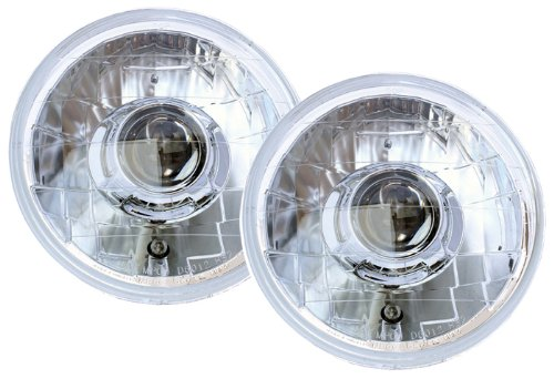 IPCW CWS-420C Jeep Wrangler 2007 - 2013 Head Lamps, Projector Chrome   B006BURALK