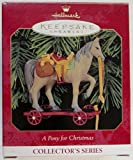 Hallmark Keepsake Ornament - A Pony for Christmas #2 in Collector Series 1999 (QX6299)