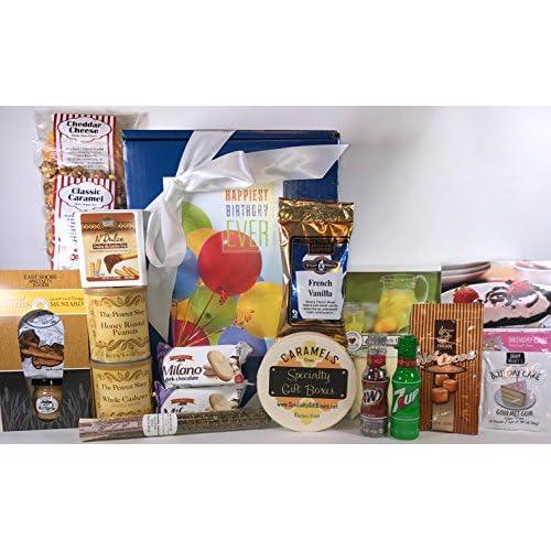 Chic Gourmet Birthday Gift Box Basket