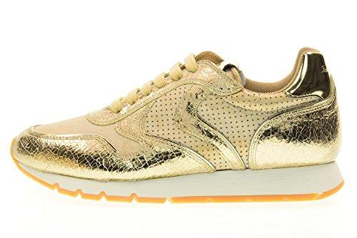 Scarpe Voile Julia 04 Blanche Oro 9137 Donna Sneakers 0012011156 vq0zTqW54
