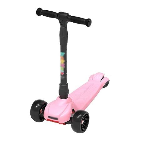 CQILONG-Scooter Patinete De 3 Ruedas Altura Ajustable Diseño ...