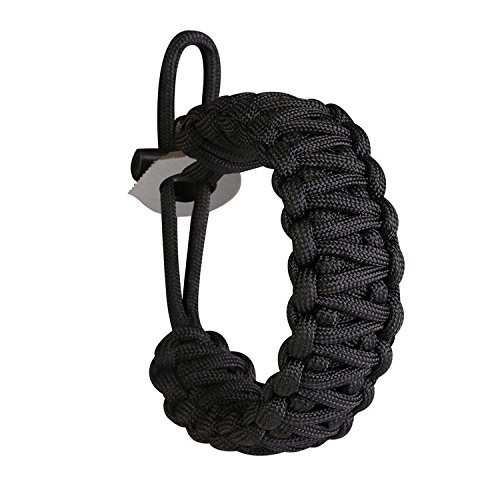 Gonex-Premium-Paracord-Bracelet-Excellent-550-Cord-Parachute-bracelet-with-Fire-Starter-and-Eye-Knife-for-Hiking-Camping-Advanture-fits-8-10-Inch-Wrist