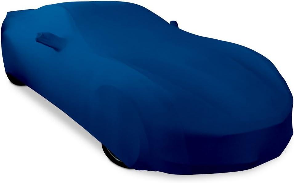 Z06 Z51 2014-2019 C7 Stingray Grand Sport Corvette Ultraguard Stretch Satin Indoor Car Cover Dark Red