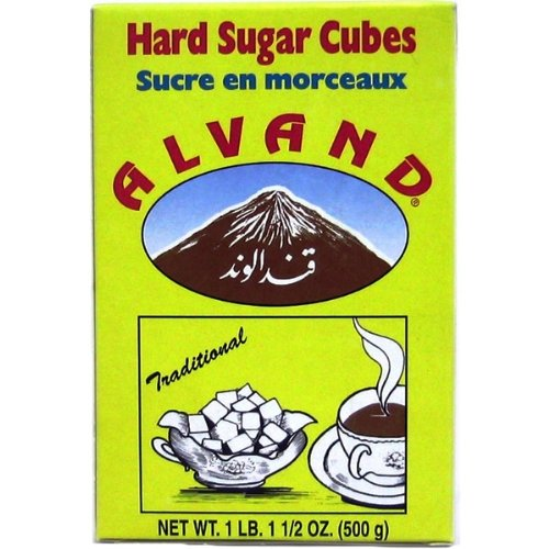 Alvand Sugar Cubes Hard, 500-Grams (Pack of 5)