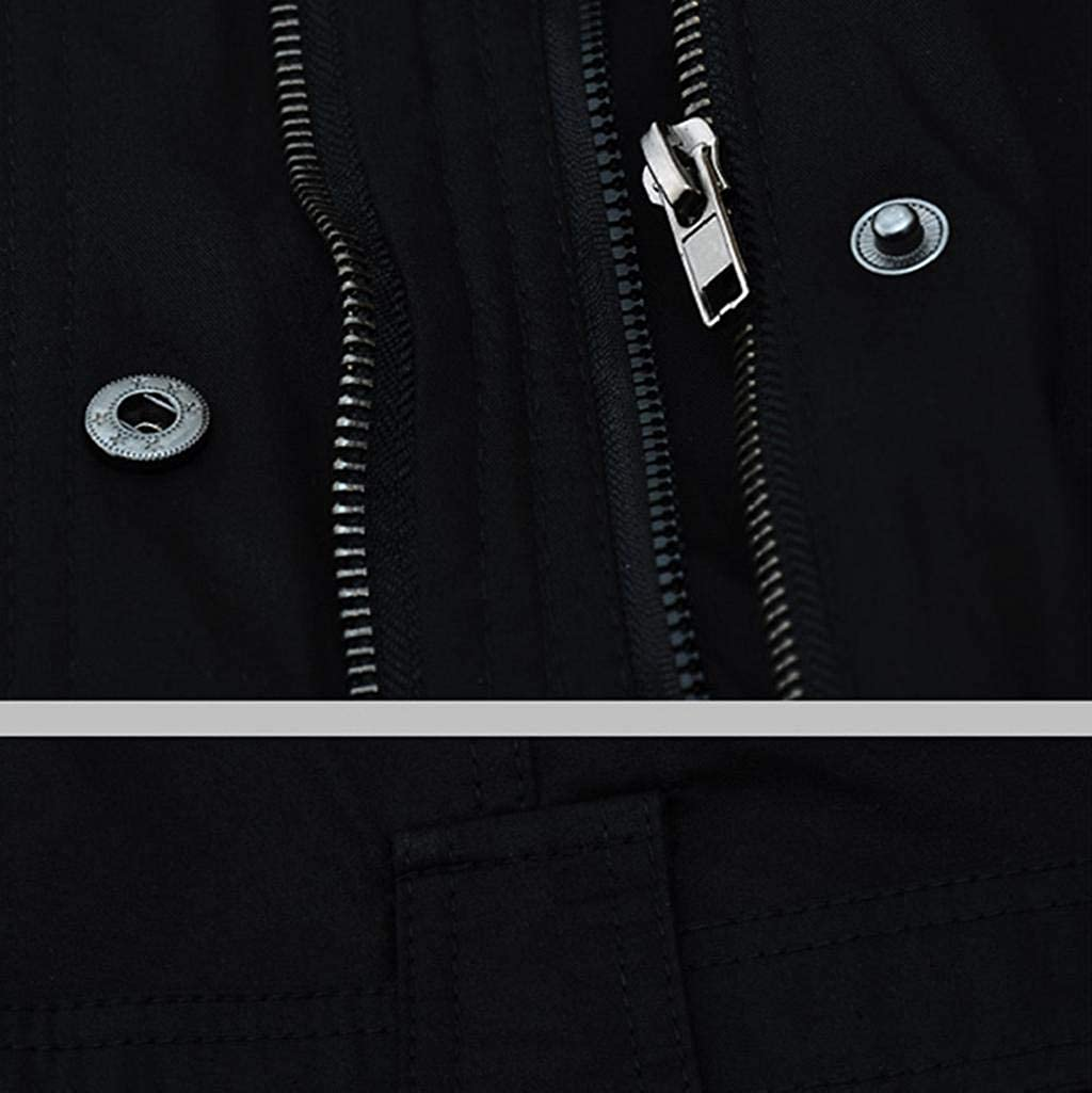 Damen Mantel Gro/ße Gr/ö/ße Frau Winter Lange Kapuzenjacke Warm Jacke Mit Fellkapuze Slim Fit Langarm Parka M/äntel Mode Kapuzenpullover Einfarbig Rei/ßverschluss Winterjacke Outwear Pelzkragen Coat