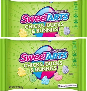 NEW Mouthwatering Sweetarts Easter Chicks, Ducks & Bunnies