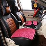 PX Home Seat Protector Pads, 20.5''x 20.5'' Washable Waterproof Seat Protector Pads, Universal Car Interior Seat Protector Mat Pad Fit Most Car, Truck, Suv, or Van(Red)