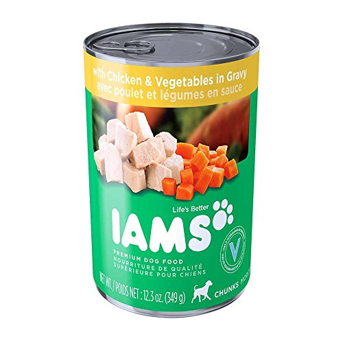 iams-proactive-health-adult-chunks-with-chicken-vegetables-in-gravy-dog-food-123-oz-pack-of-12