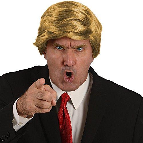 Mr. President Billionaire Halloween Costume Wig, (Billionaire Costume)