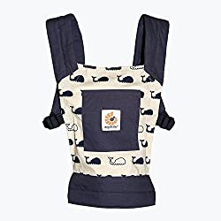 Ergobaby Toy Doll Carrier, Marine